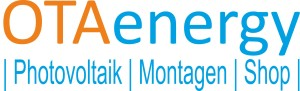 Logo OTAenergy, Photovoltaik, Montagen, Shop