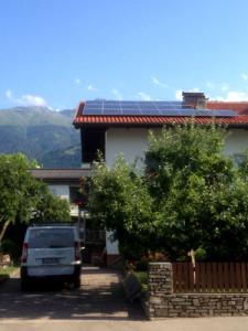 Referenzen 5 kWp Photovoltaikanlage in Lienz