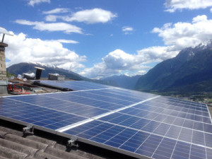 Referenzen 5 kWp Photvoltaikanlage Thurn