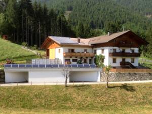 Referenzen Photovoltaikanlage Goll Gemeinde Anras / Osttirol