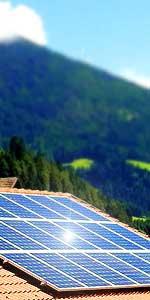 Bezirk Lienz Solaranlage liegend