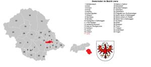Gemeinden Bezirk Lienz